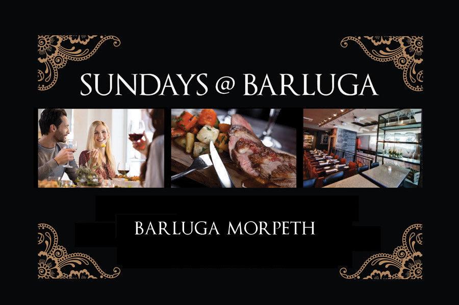 Sunday lunch at Barluga Morpeth