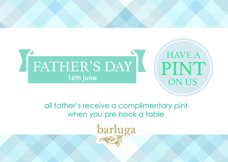 Father's Day 16th June